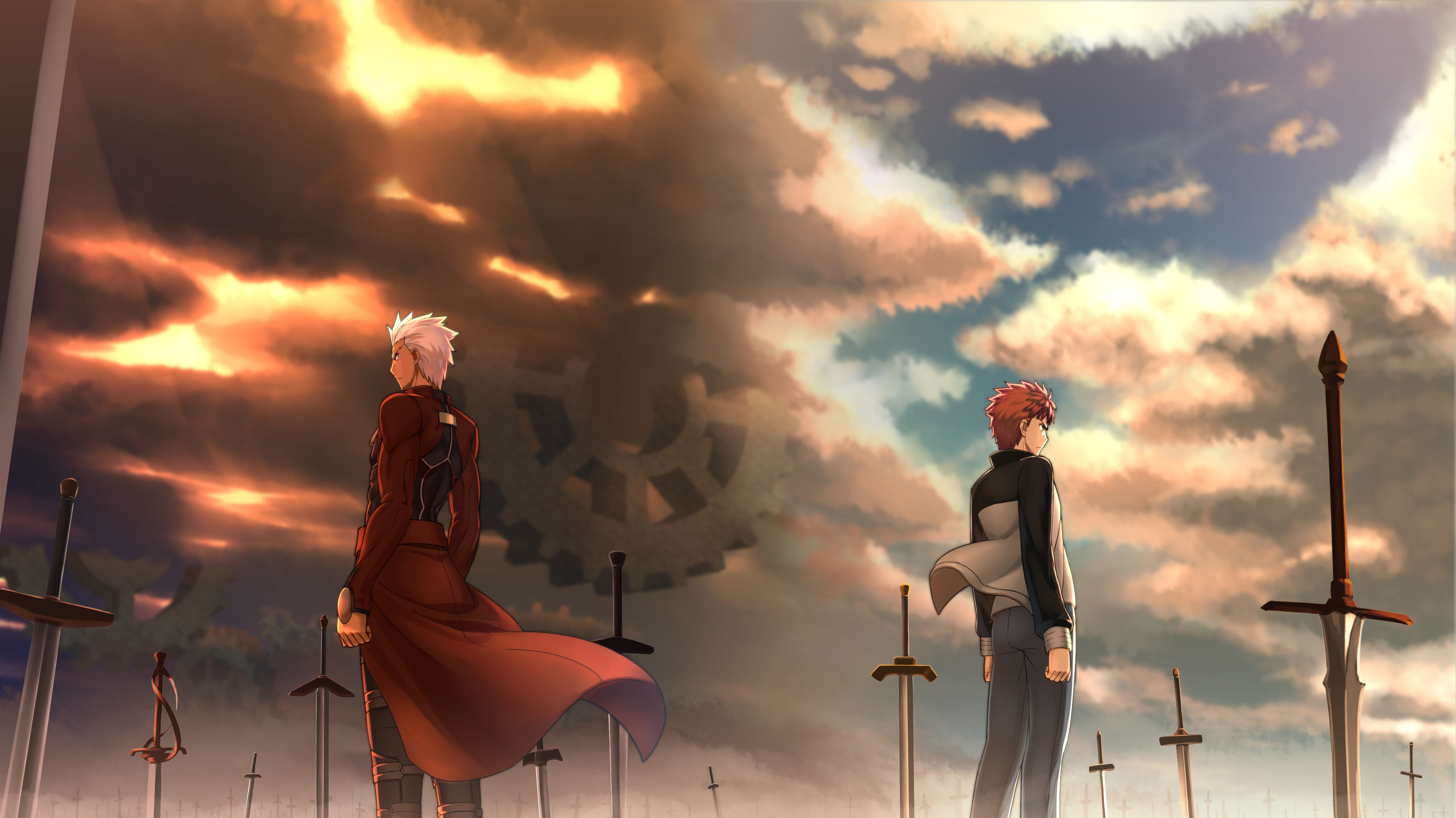 Download 4k Fate/Stay Night: Unlimited Blade Works computer background ID:291107 for free