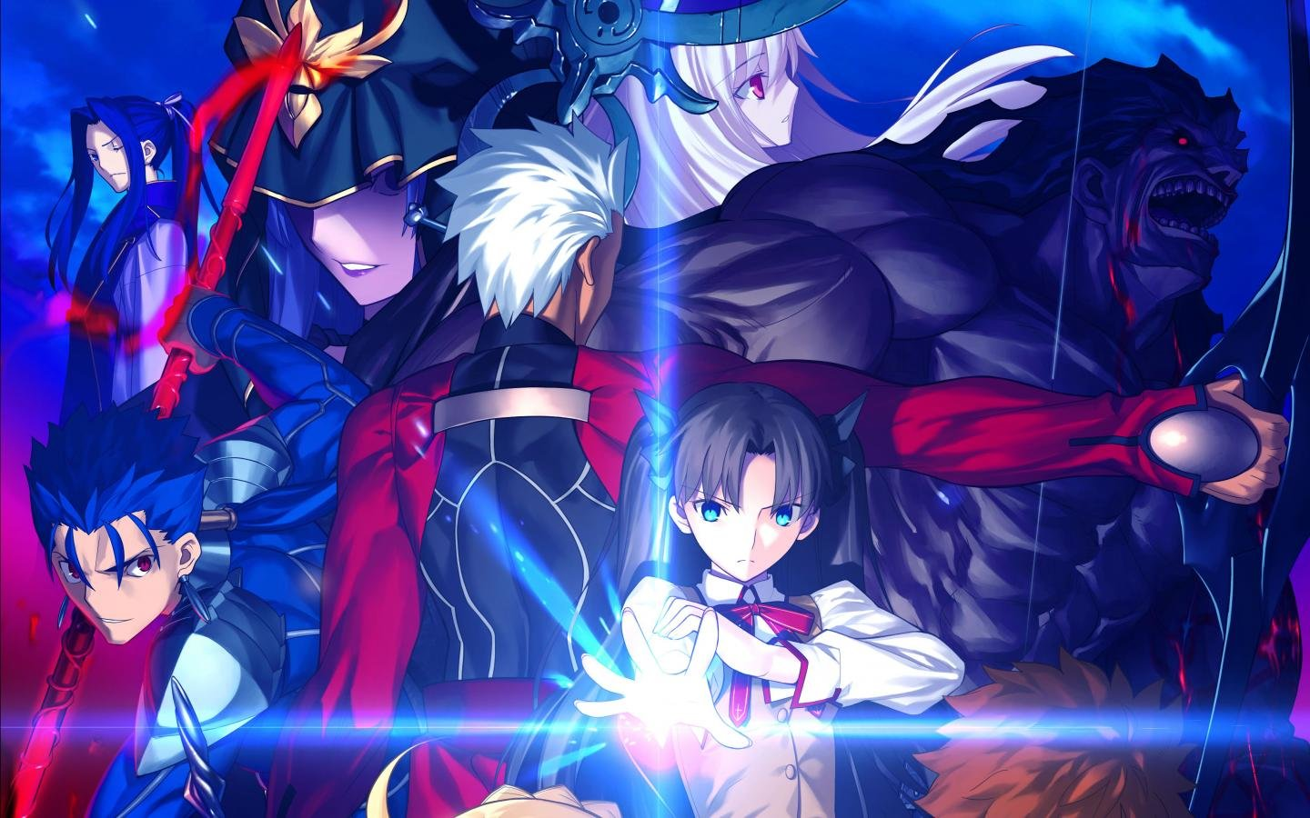 Free Fate/Stay Night: Unlimited Blade Works high quality background ID:291096 for hd 1440x900 computer
