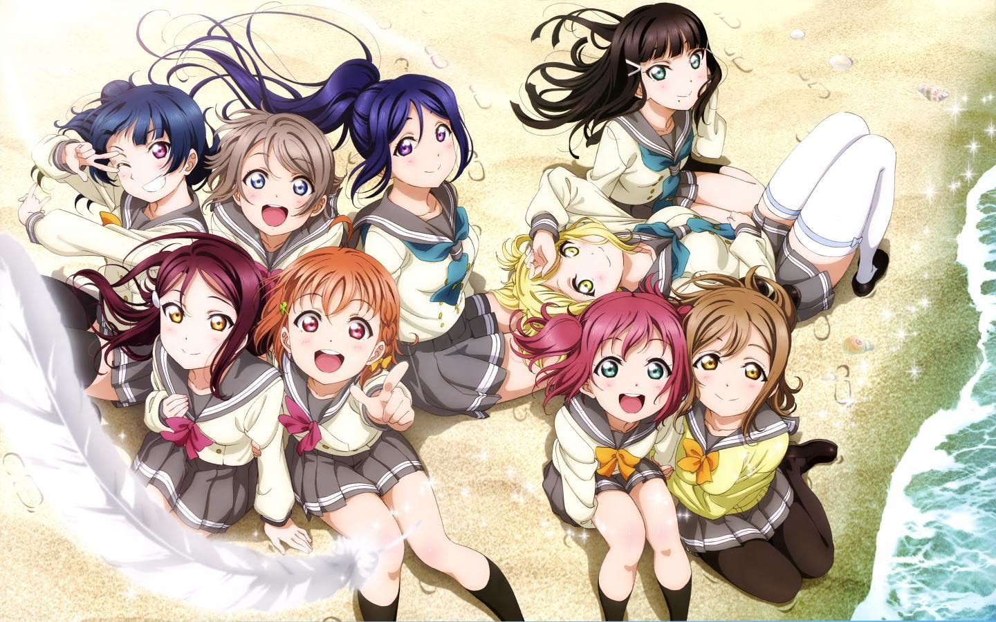 Awesome Love Live! free wallpaper ID:152342 for hd 1440x900 PC