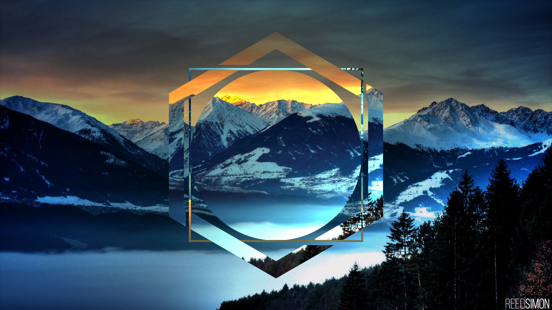 Polyscape Wallpapers 1920x1080 Full Hd 1080p Desktop Backgrounds