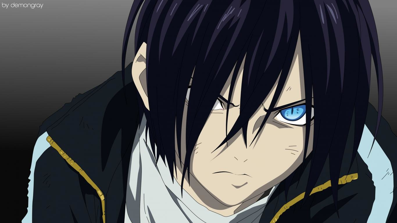 Best Yato (Noragami) wallpaper ID:450228 for High Resolution 1366x768 laptop PC