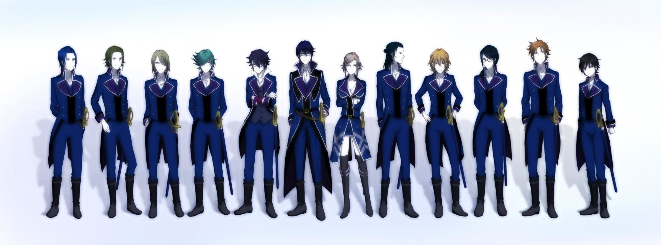 High resolution K Project dual screen 2240x832 wallpaper ID:315763 for computer