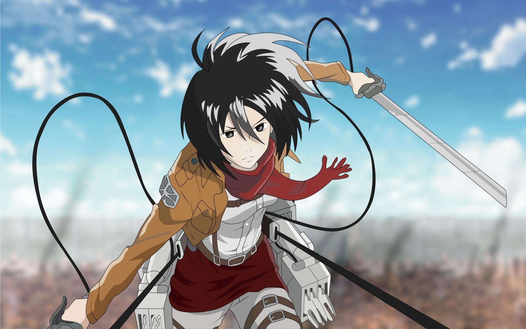Best Mikasa Ackerman Wallpaper Id 206631 For High Resolution