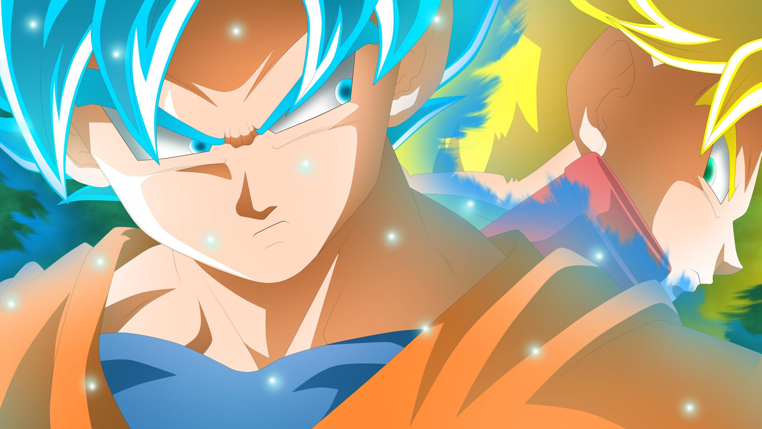 Awesome Dragon Ball Super free wallpaper ID:242619 for hd 2560x1440 PC