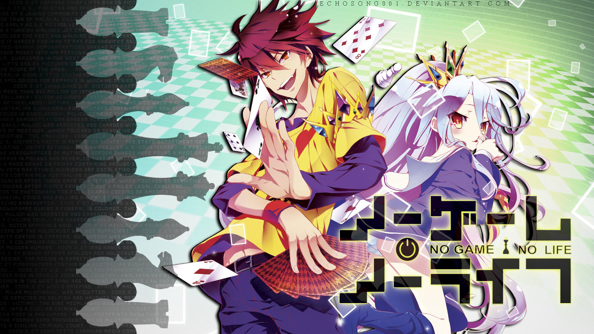 Best No Game No Life background ID:102713 for High Resolution hd 1080p computer
