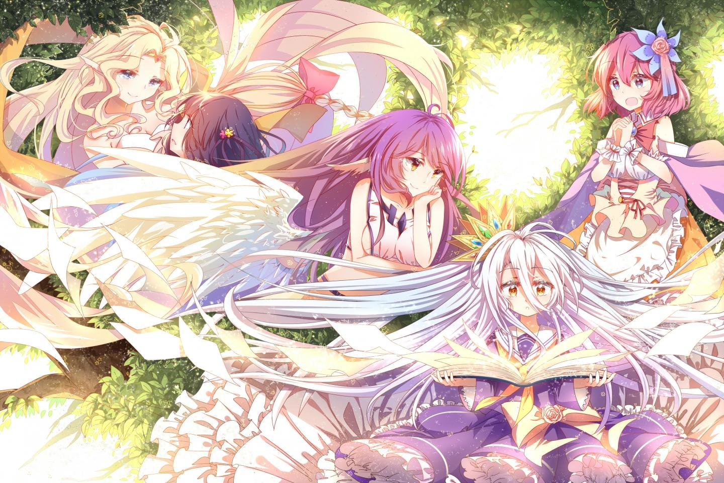 Free download No Game No Life background ID:102505 hd 1440x960 for desktop
