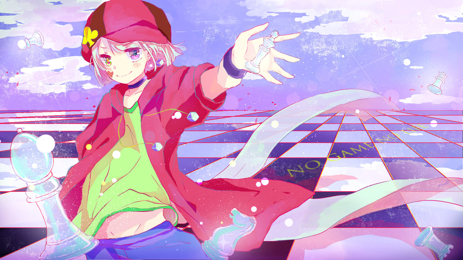 Free download No Game No Life background ID:102703 hd 1600x900 for PC