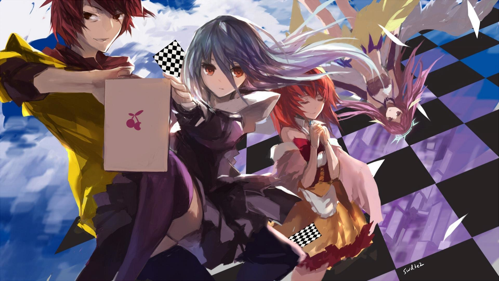 Download hd 1080p No Game No Life computer wallpaper ID:102693 for free
