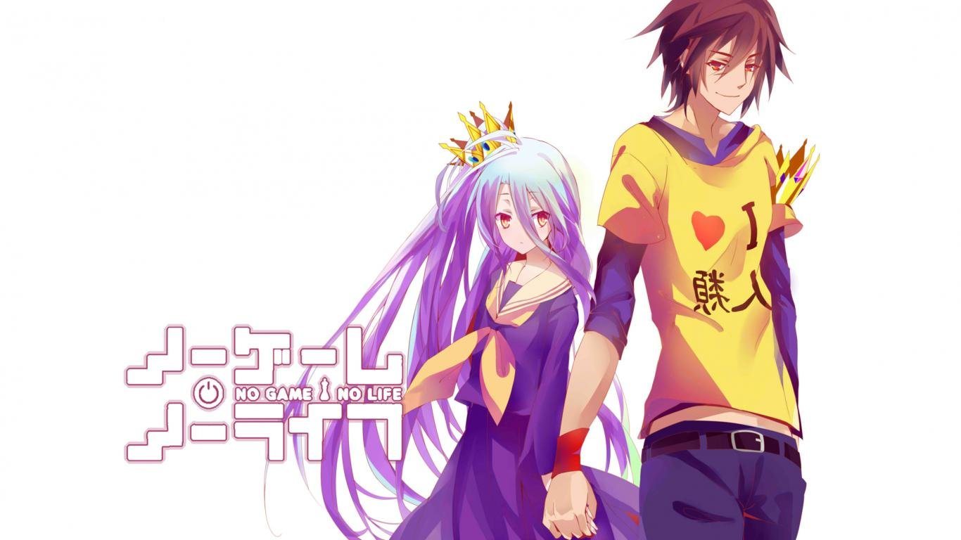 Free download No Game No Life wallpaper ID:102704 hd 1366x768 for PC
