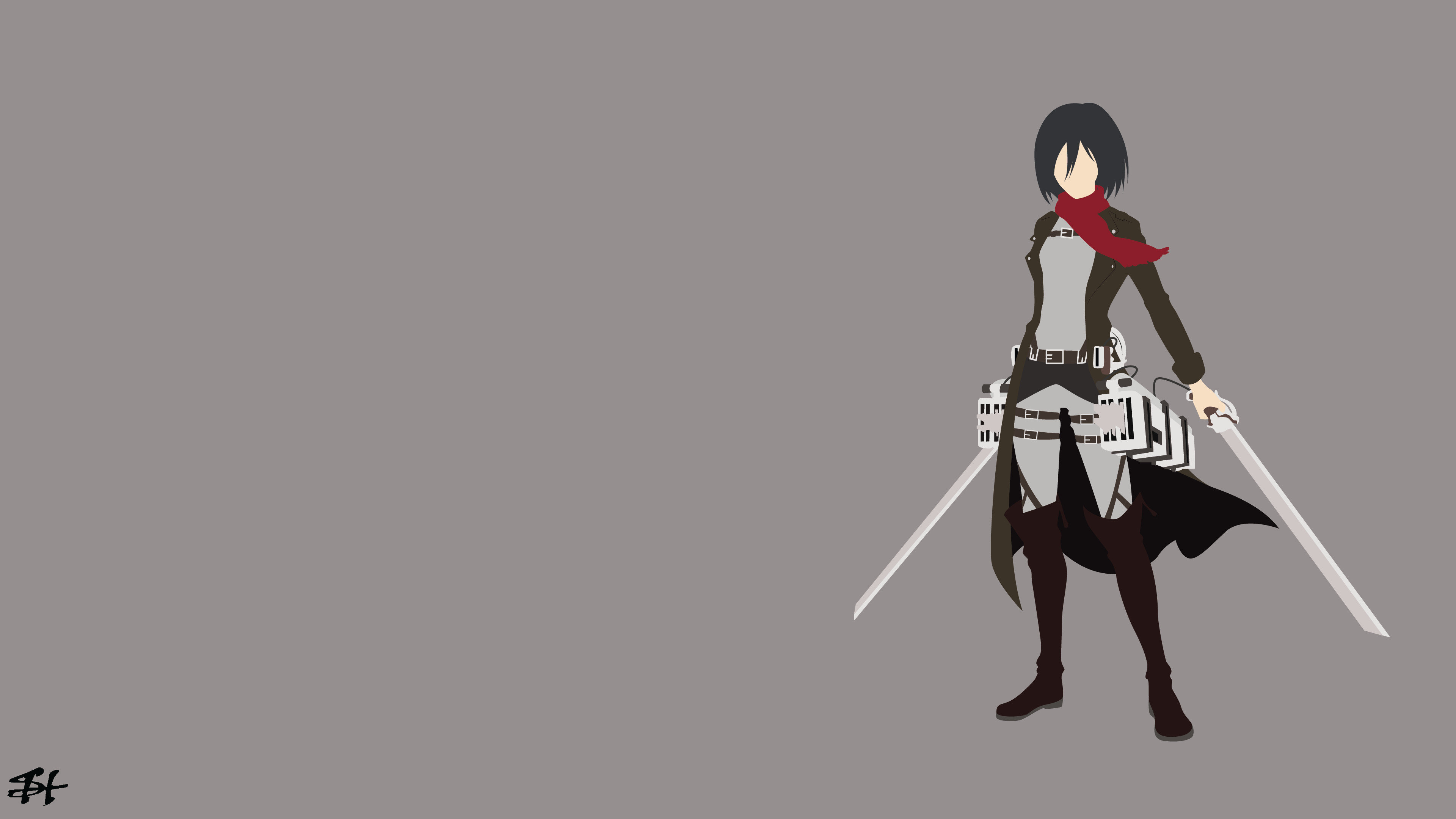 Awesome Mikasa Ackerman free wallpaper ID:206620 for uhd 4k desktop