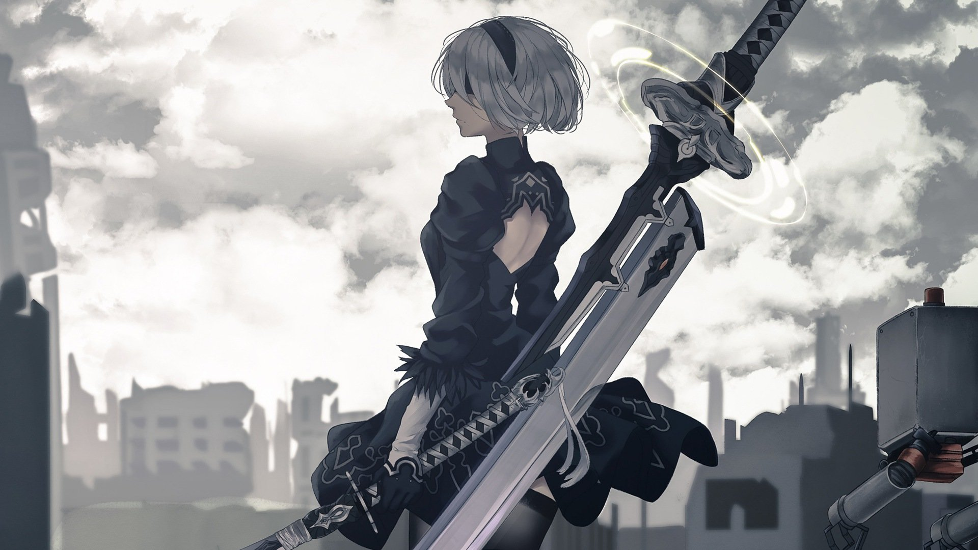 Nier Automata Wallpapers 1920x1080 Full Hd 1080p Desktop