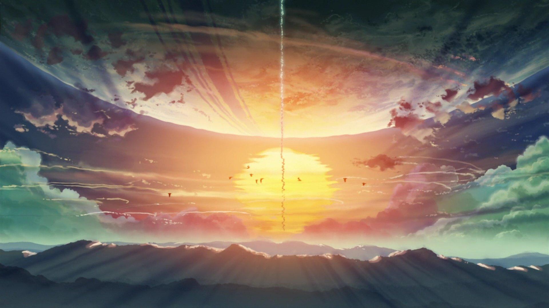 Scenery Anime Wallpapers 1920x1080 Full Hd 1080p Desktop Backgrounds
