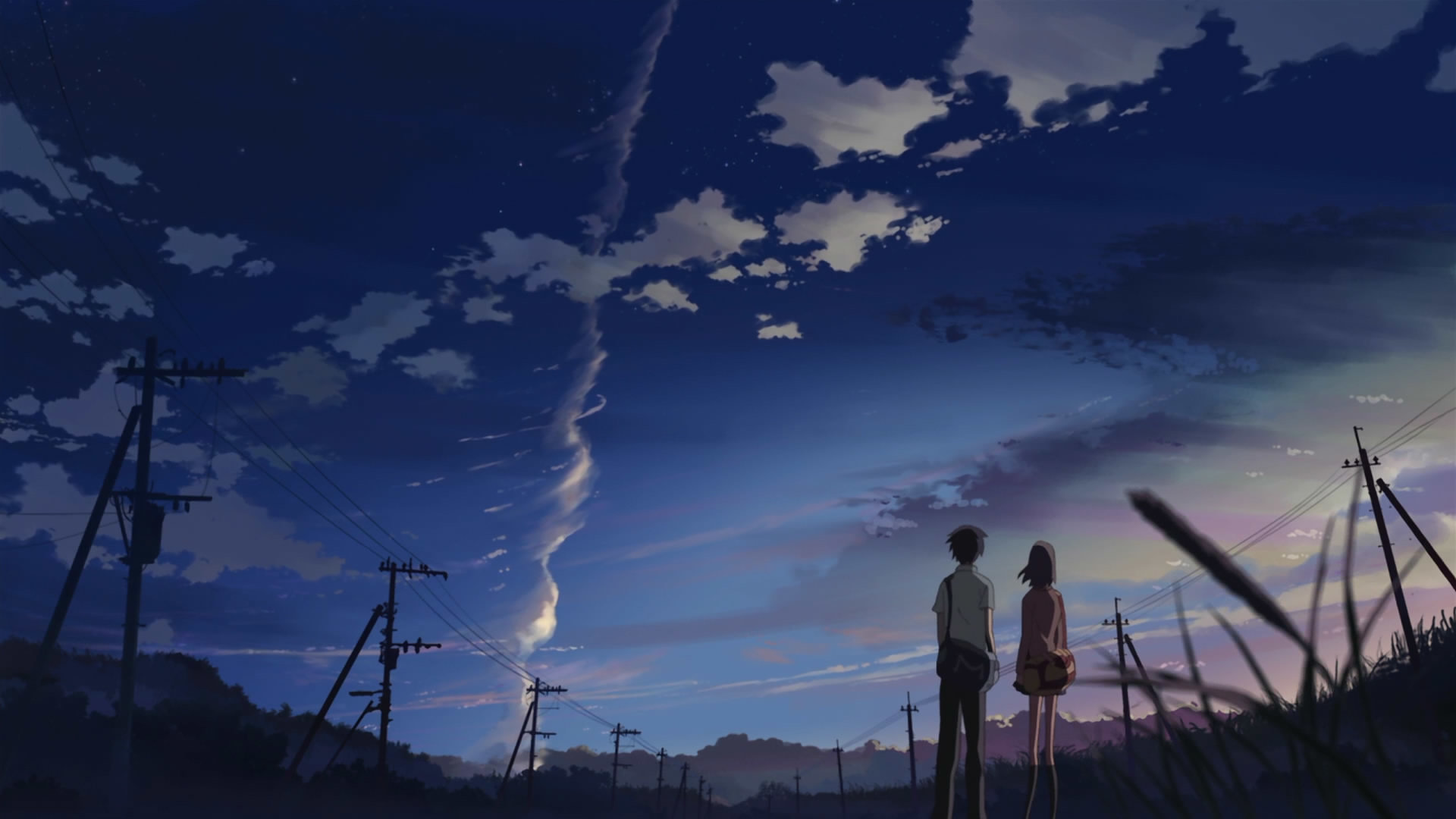 Download full hd 1920x1080 5 (cm) Centimeters Per Second desktop wallpaper ID:90051 for free