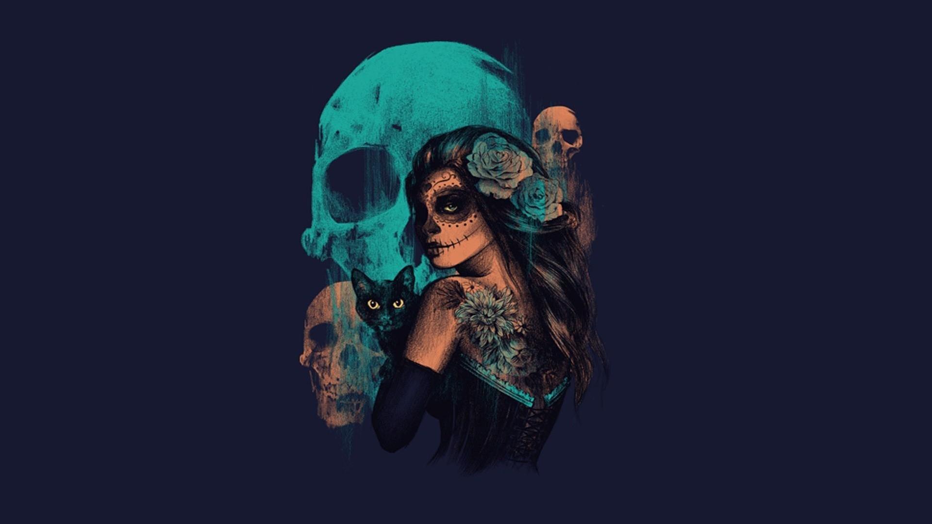 Sugar Skull Wallpapers Hd For Desktop Backgrounds