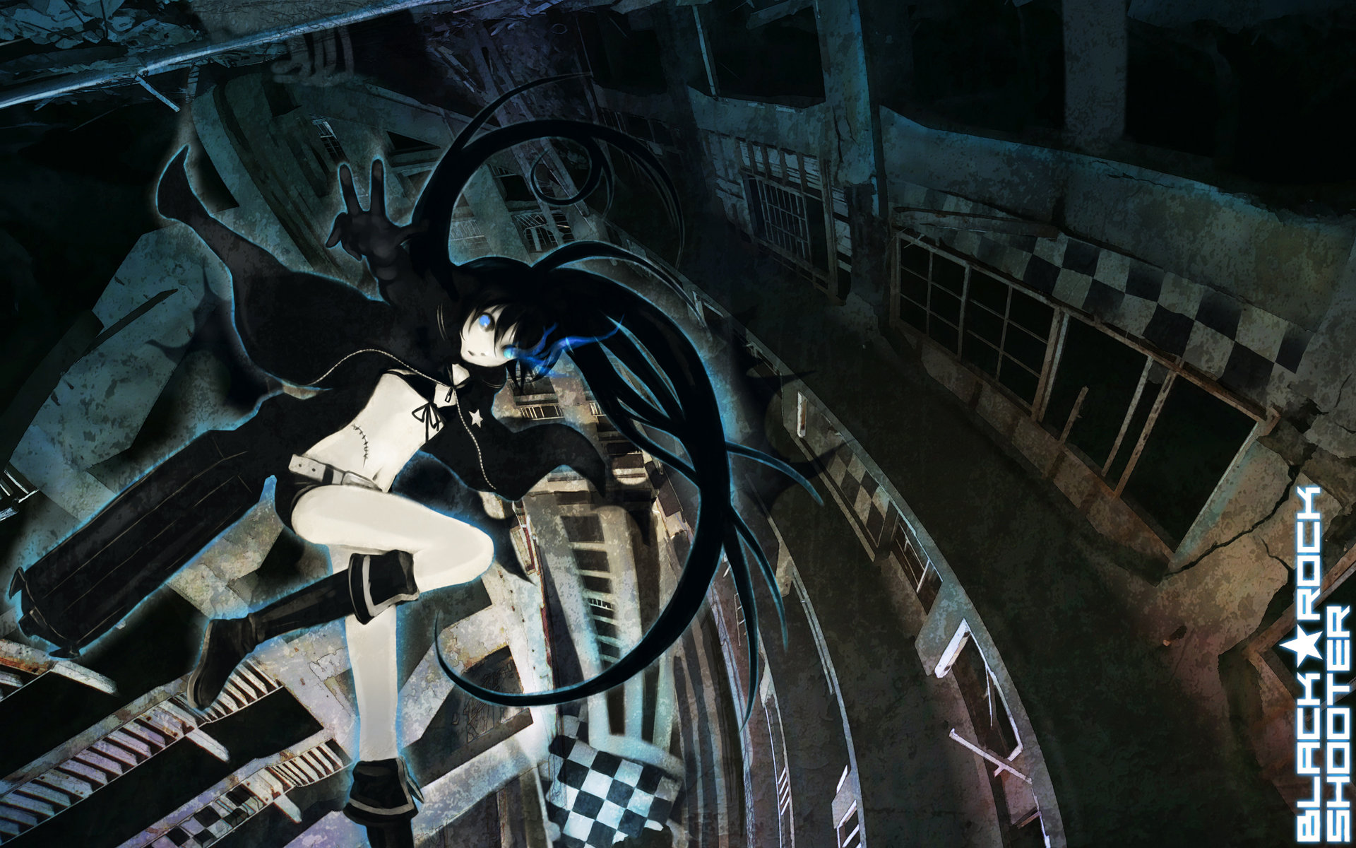 Awesome Black Rock Shooter free background ID:454927 for hd 1920x1200 PC