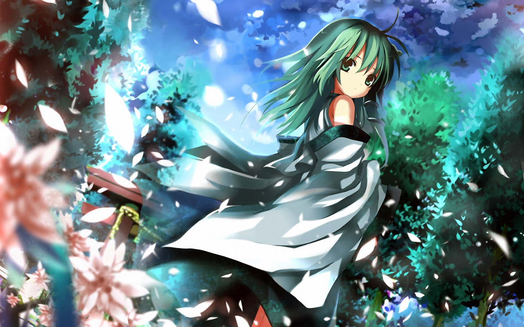Free download Touhou background ID:219810 hd 1680x1050 for desktop