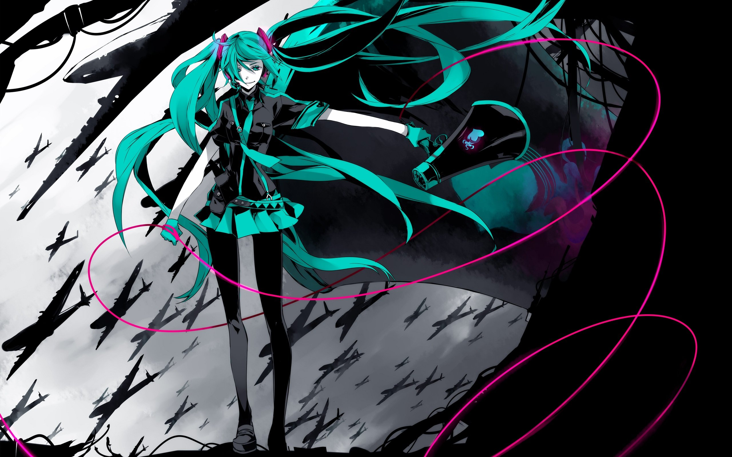 High resolution Vocaloid hd 2560x1600 background ID:715 for desktop