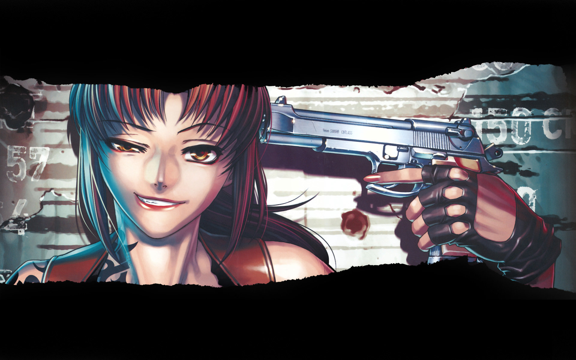 Free Revy (Black Lagoon) high quality background ID:113610 for hd 1920x1200 computer