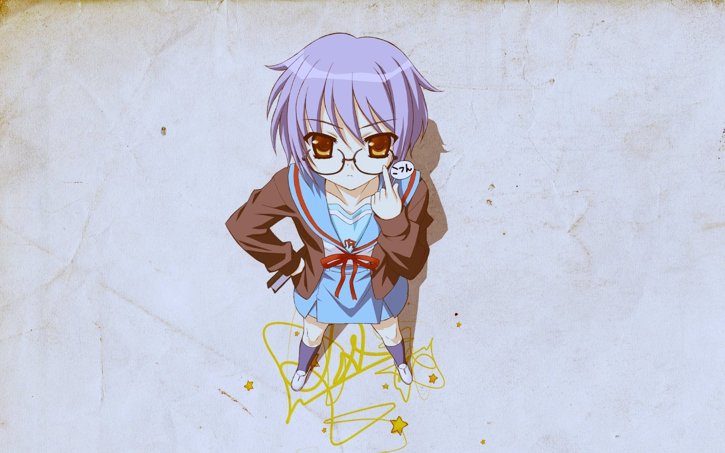 Best Yuki Nagato wallpaper ID:138985 for High Resolution hd 1440x900 PC