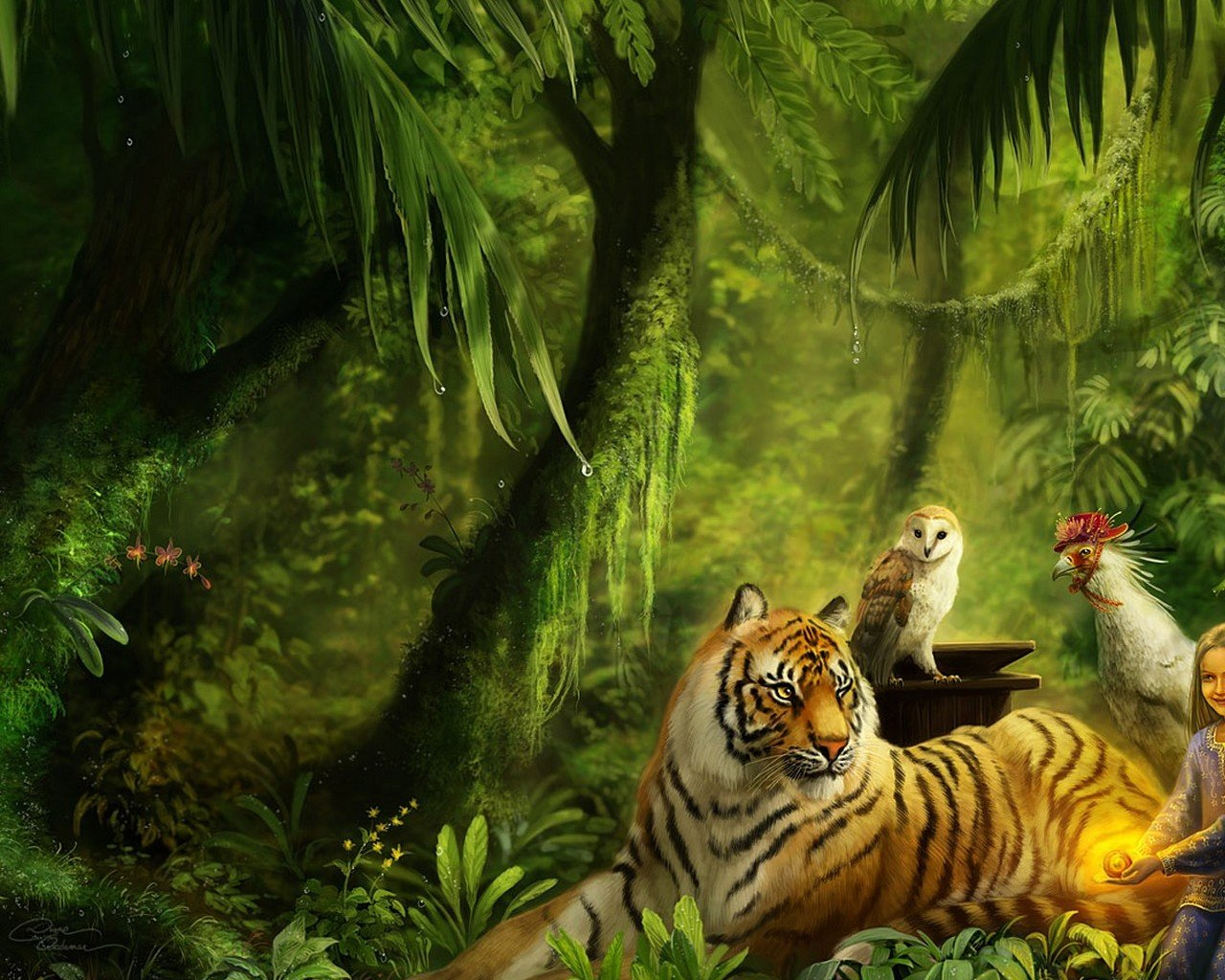 Free Tiger high quality wallpaper ID:115693 for hd 1280x1024 desktop