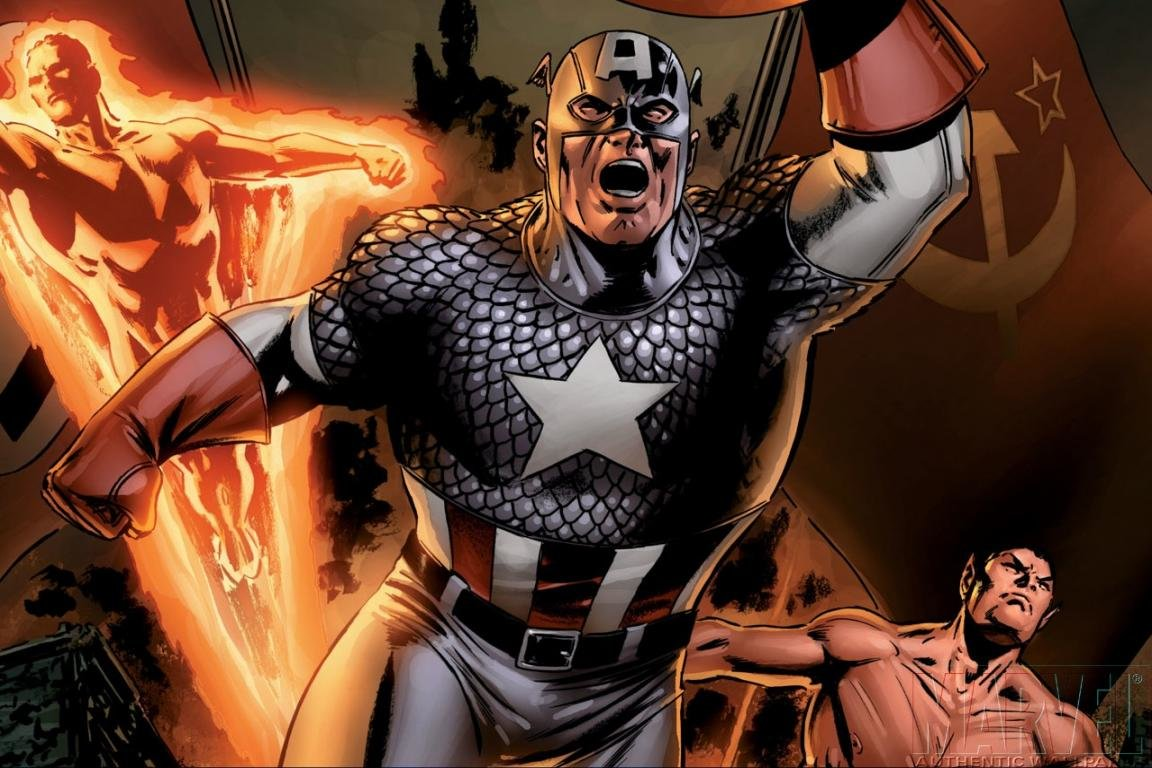 Awesome Captain America (Marvel comics) free wallpaper ID:292750 for hd 1152x768 desktop