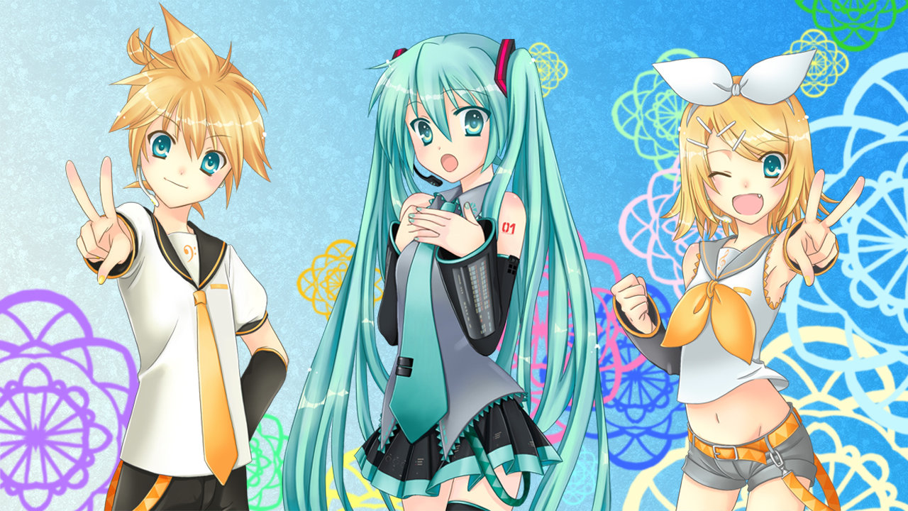 High resolution Vocaloid 720p background ID:242 for PC
