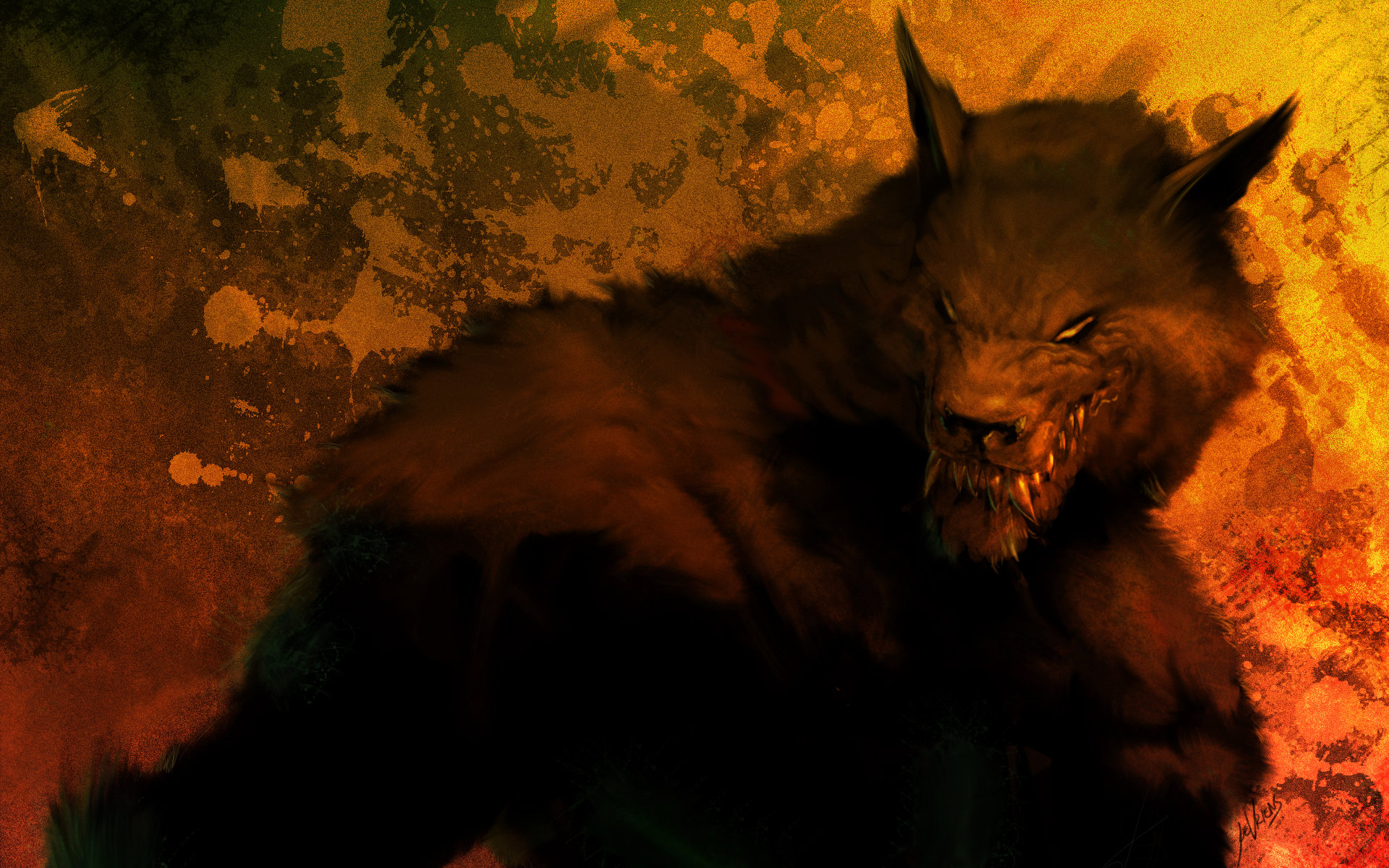 High resolution Werewolf hd 1920x1200 background ID:163690 for PC