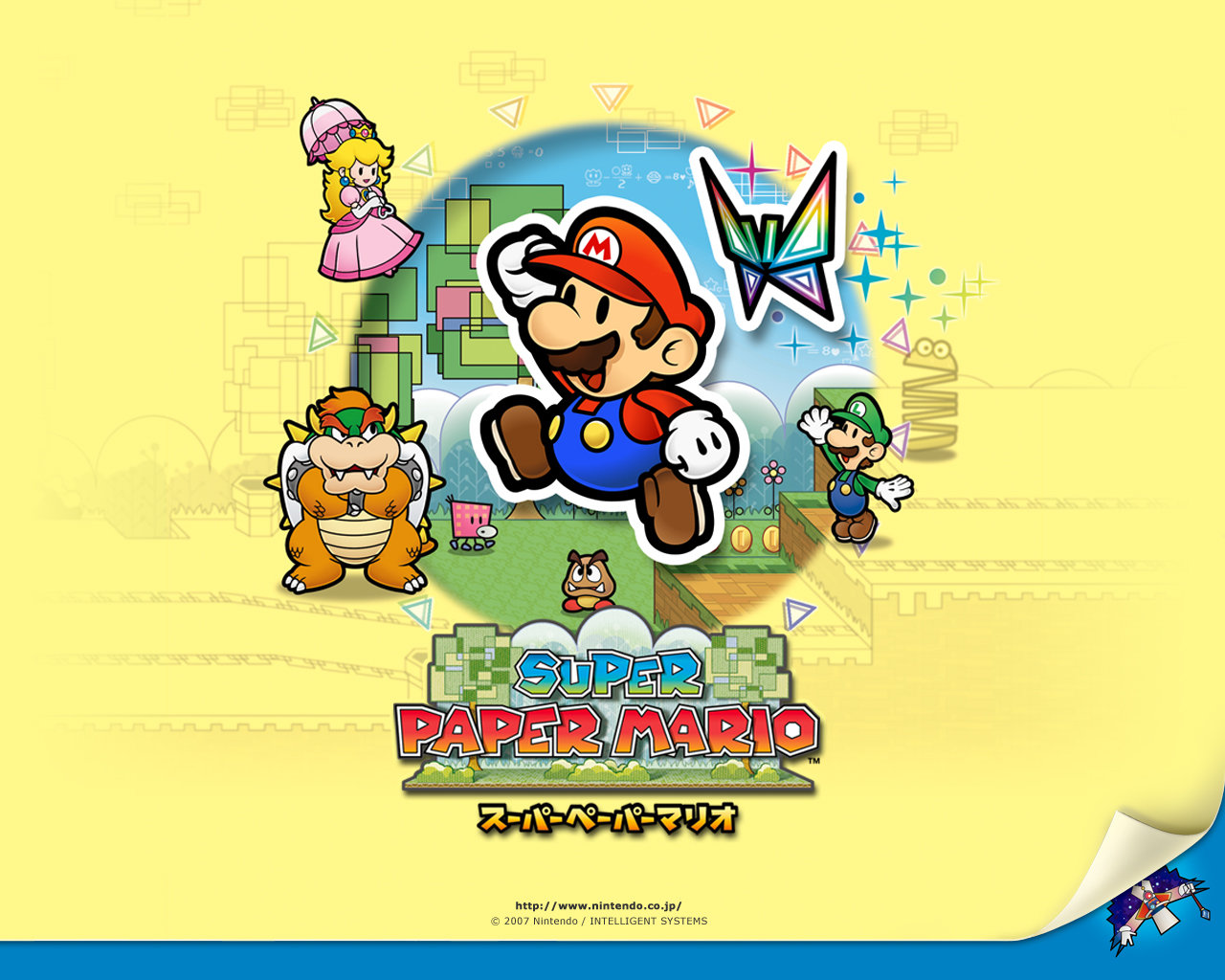 Super Paper Mario Wallpapers Hd For Desktop Backgrounds