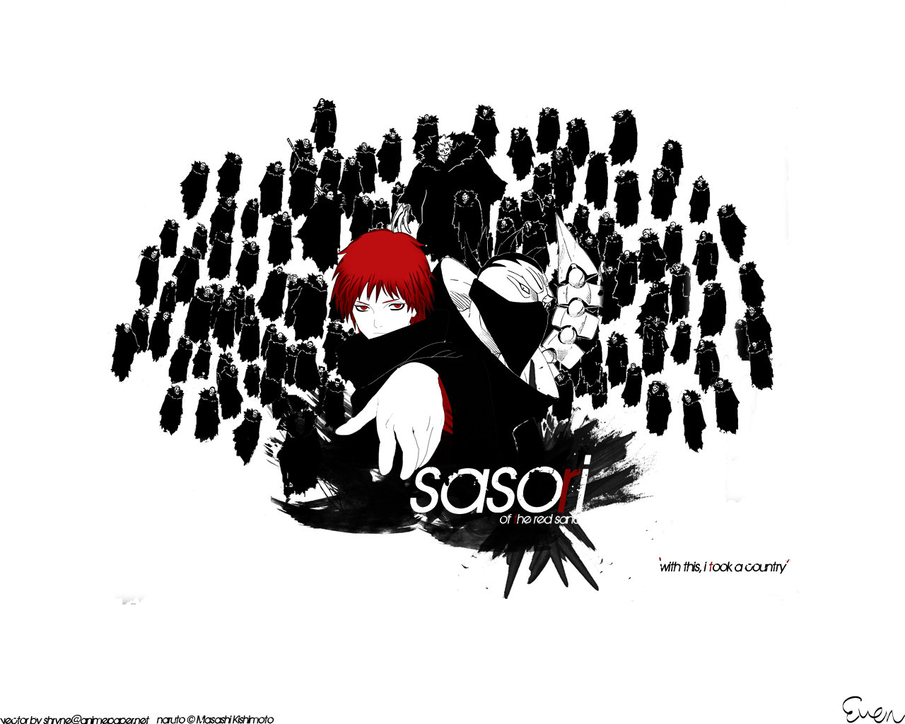 High resolution Sasori (Naruto) hd 1280x1024 background ID:395905 for desktop