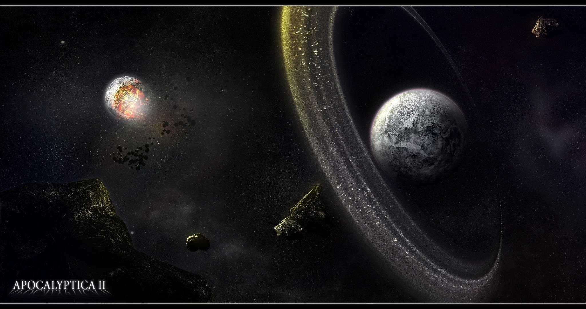 Awesome Planetary Ring free wallpaper ID:256355 for hd 2048x1080 PC