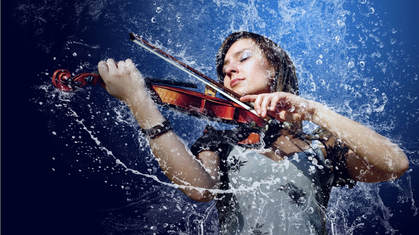 Awesome Violin free background ID:53522 for hd 1366x768 desktop