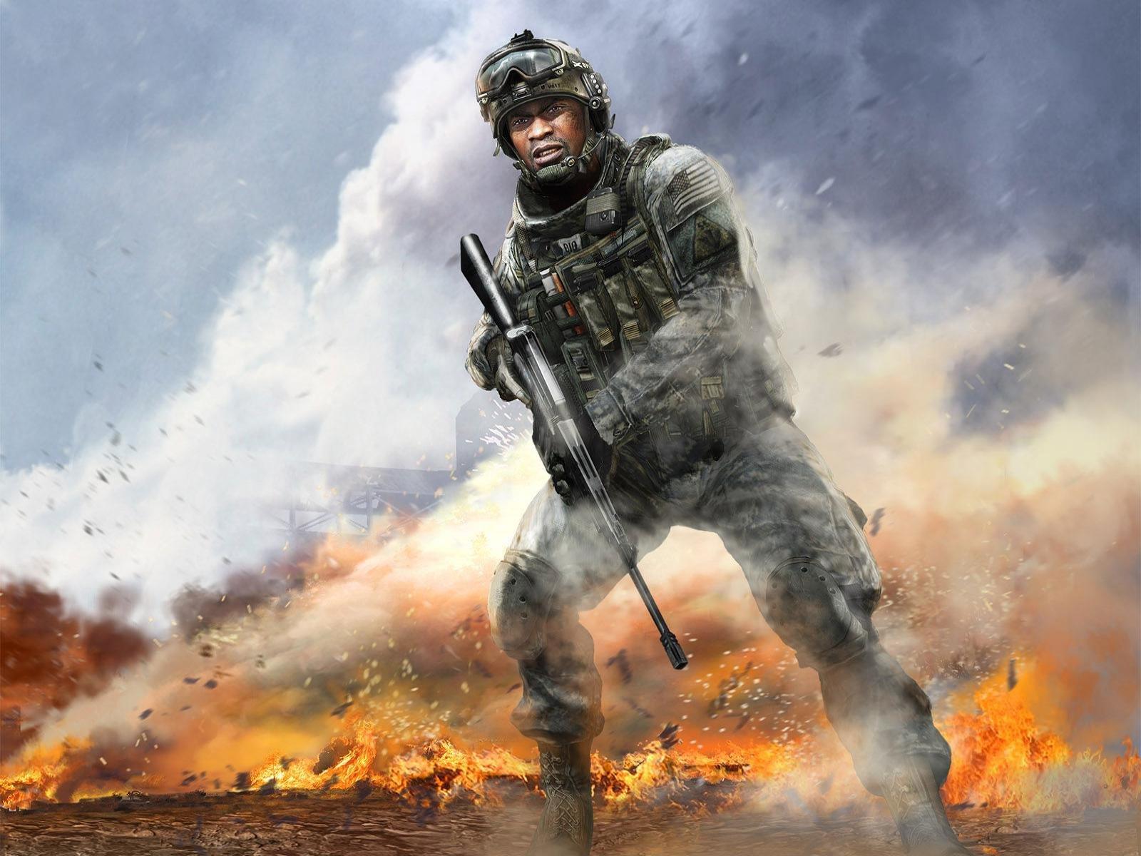 Call Of Duty 4 Modern Warfare Wallpapers Hd For Desktop Backgrounds