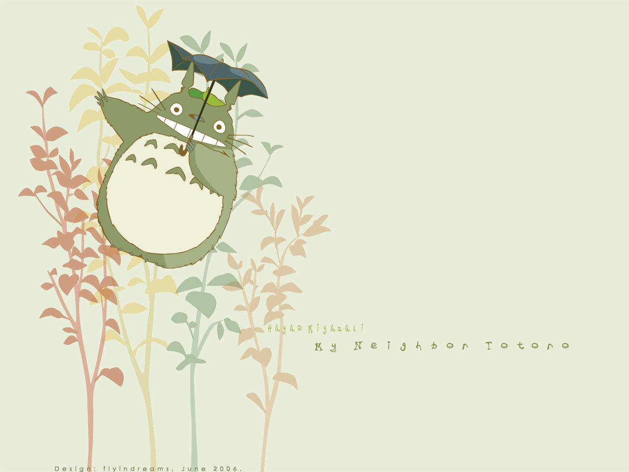 Free download My Neighbor Totoro background ID:259317 hd 1280x960 for desktop