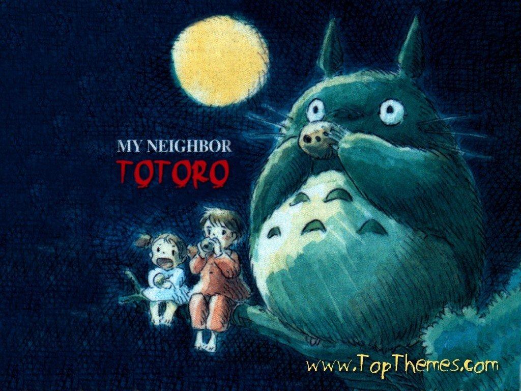 My Neighbor Totoro Wallpapers 1024x768 Desktop Backgrounds