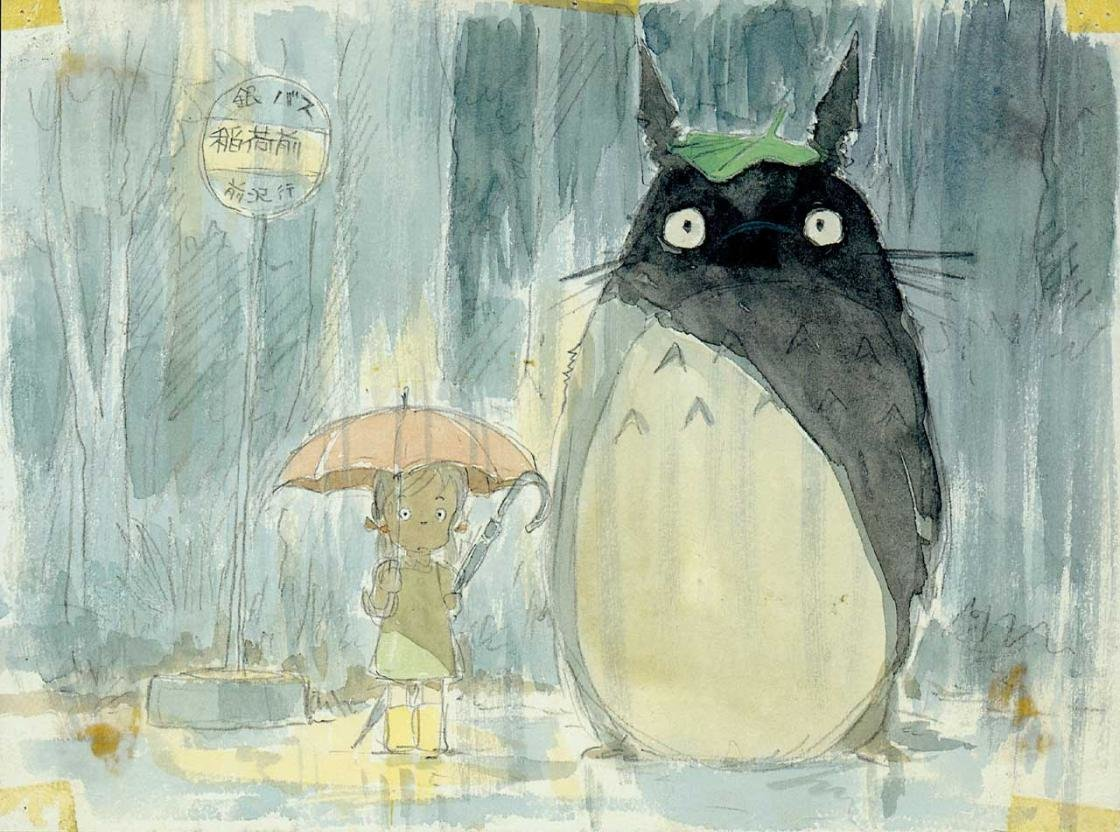 Best My Neighbor Totoro wallpaper ID:259333 for High Resolution hd 1120x832 PC