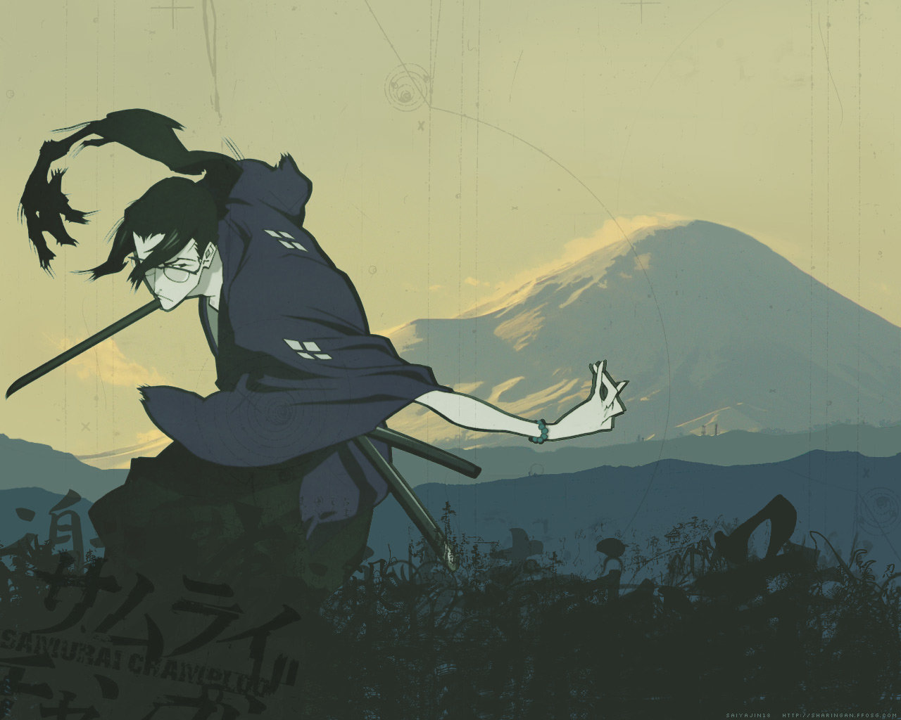 Awesome Samurai Champloo free background ID:341893 for hd 1280x1024 computer
