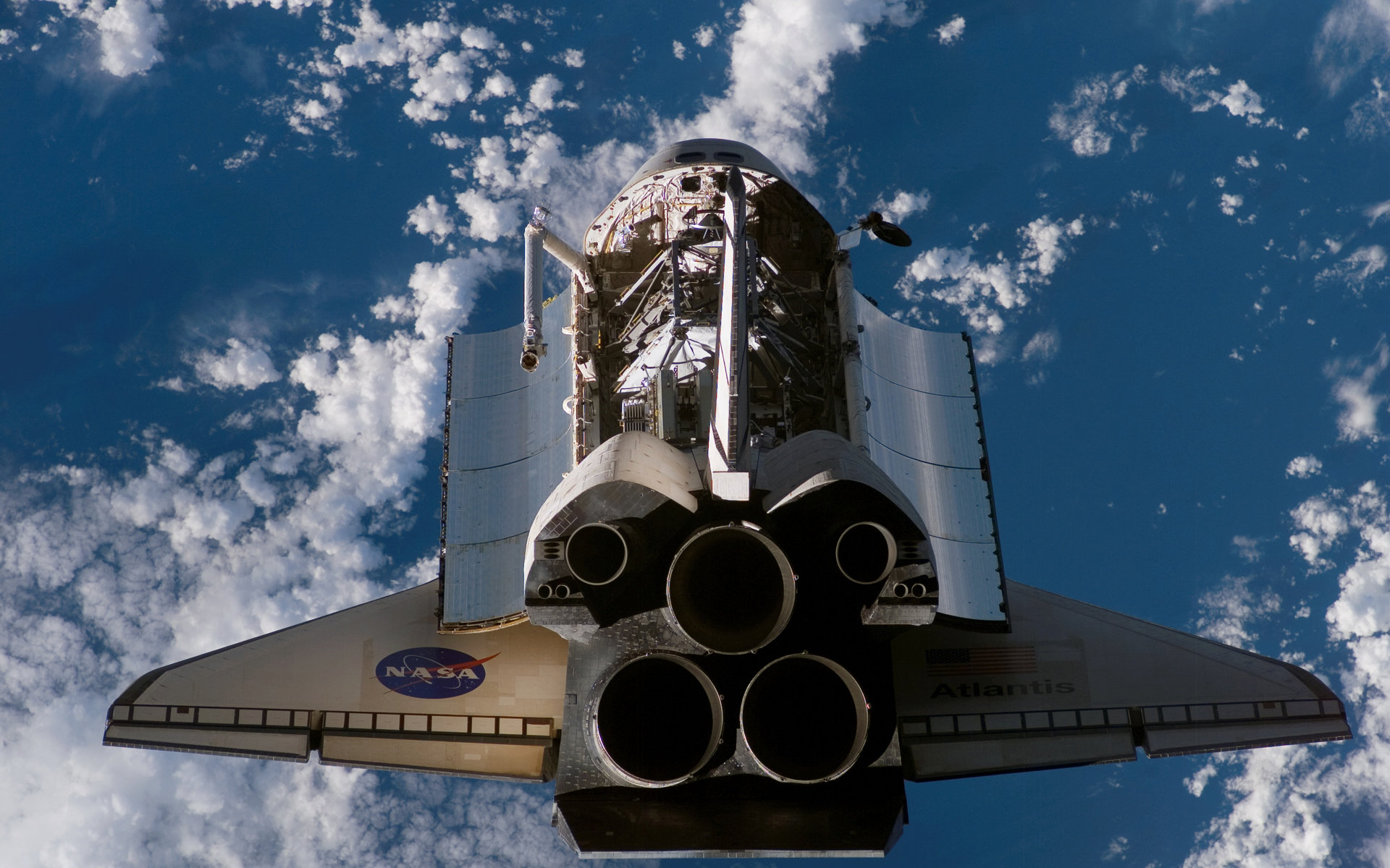 Free download Space Shuttle Atlantis wallpaper ID:460479 hd 1920x1200 for computer