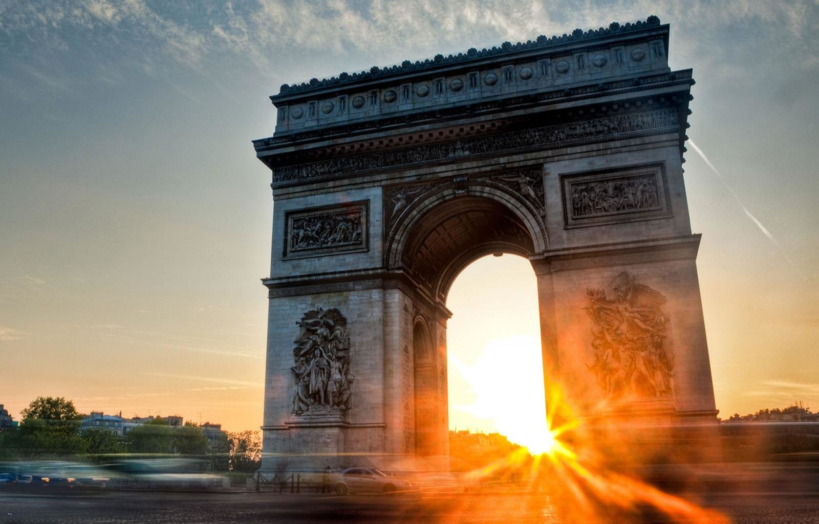 Awesome Arc De Triomphe free wallpaper ID:493961 for hd 1600x1024 PC