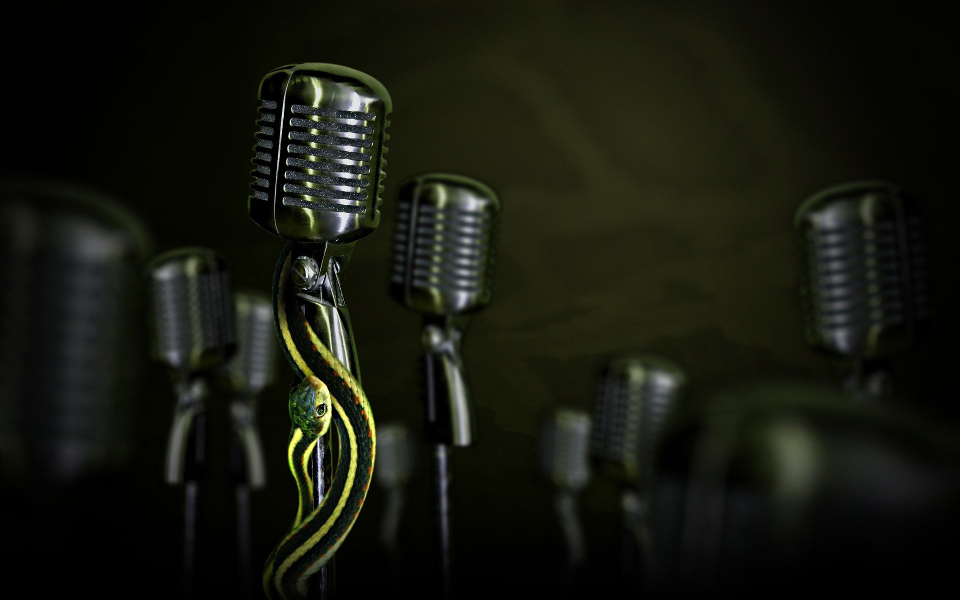 Microphone Wallpaper