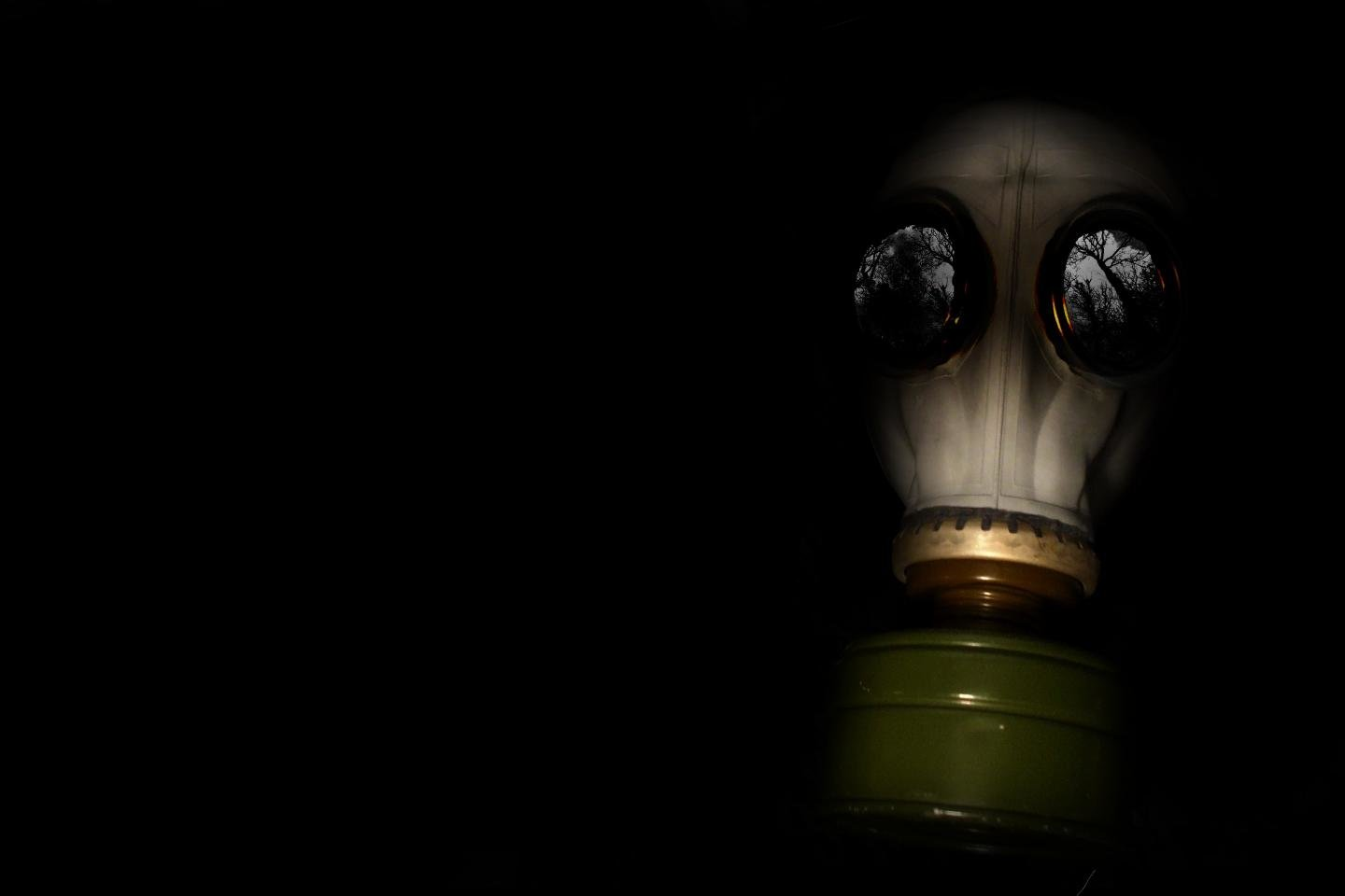 High resolution Gas Mask hd 1440x960 background ID:161629 for desktop