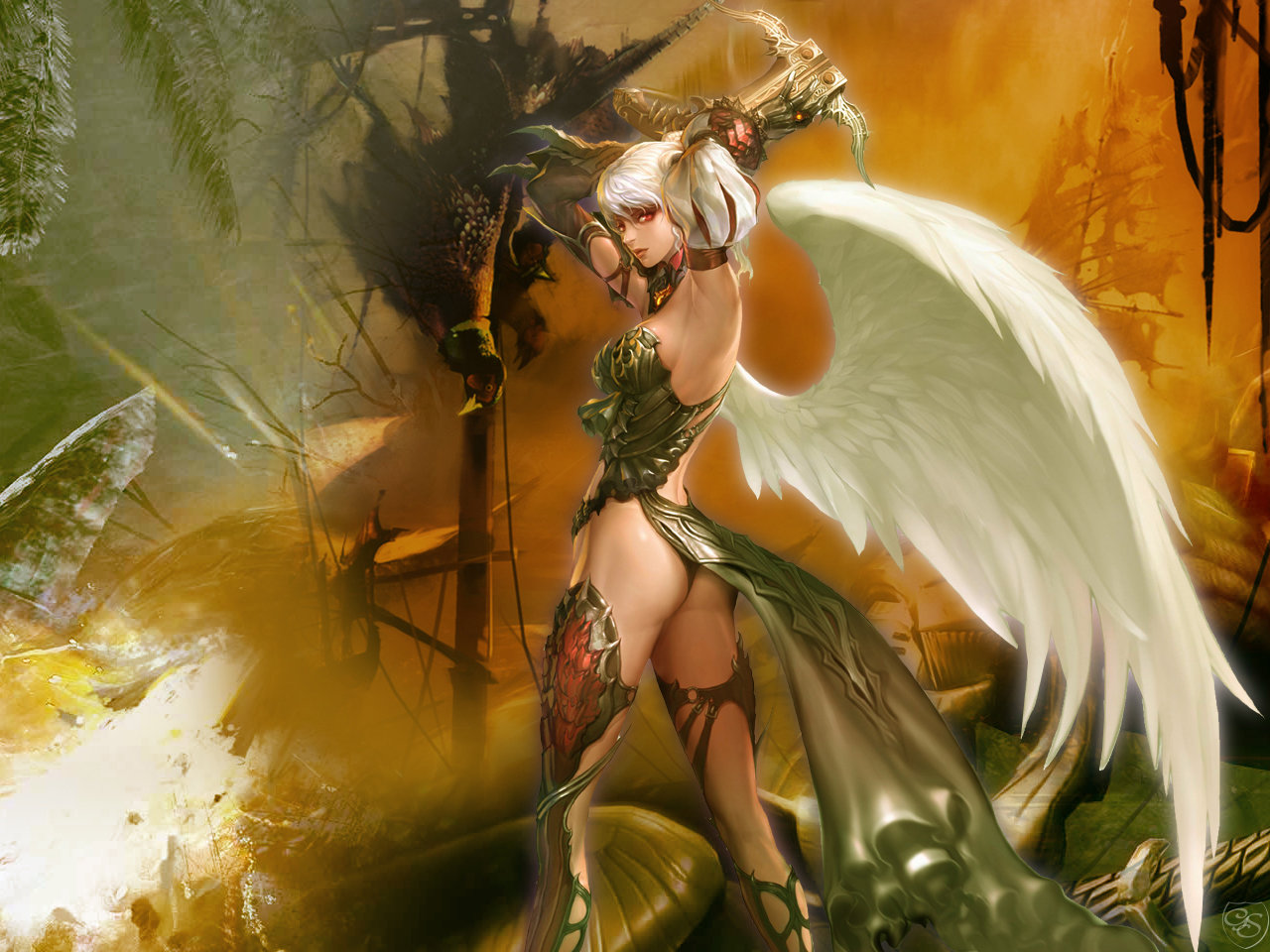 Free Lineage 2 high quality background ID:399563 for hd 1280x960 desktop