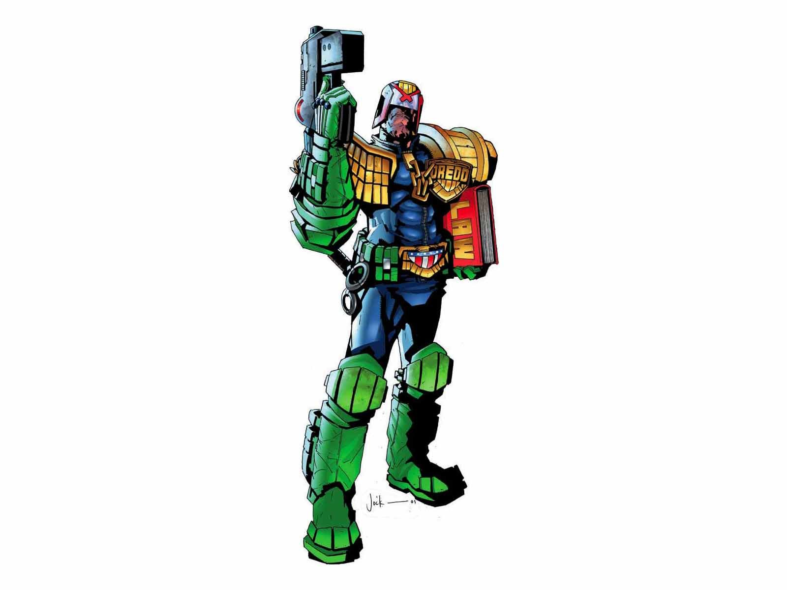 Free Judge Dredd high quality background ID:25201 for hd 1600x1200 PC