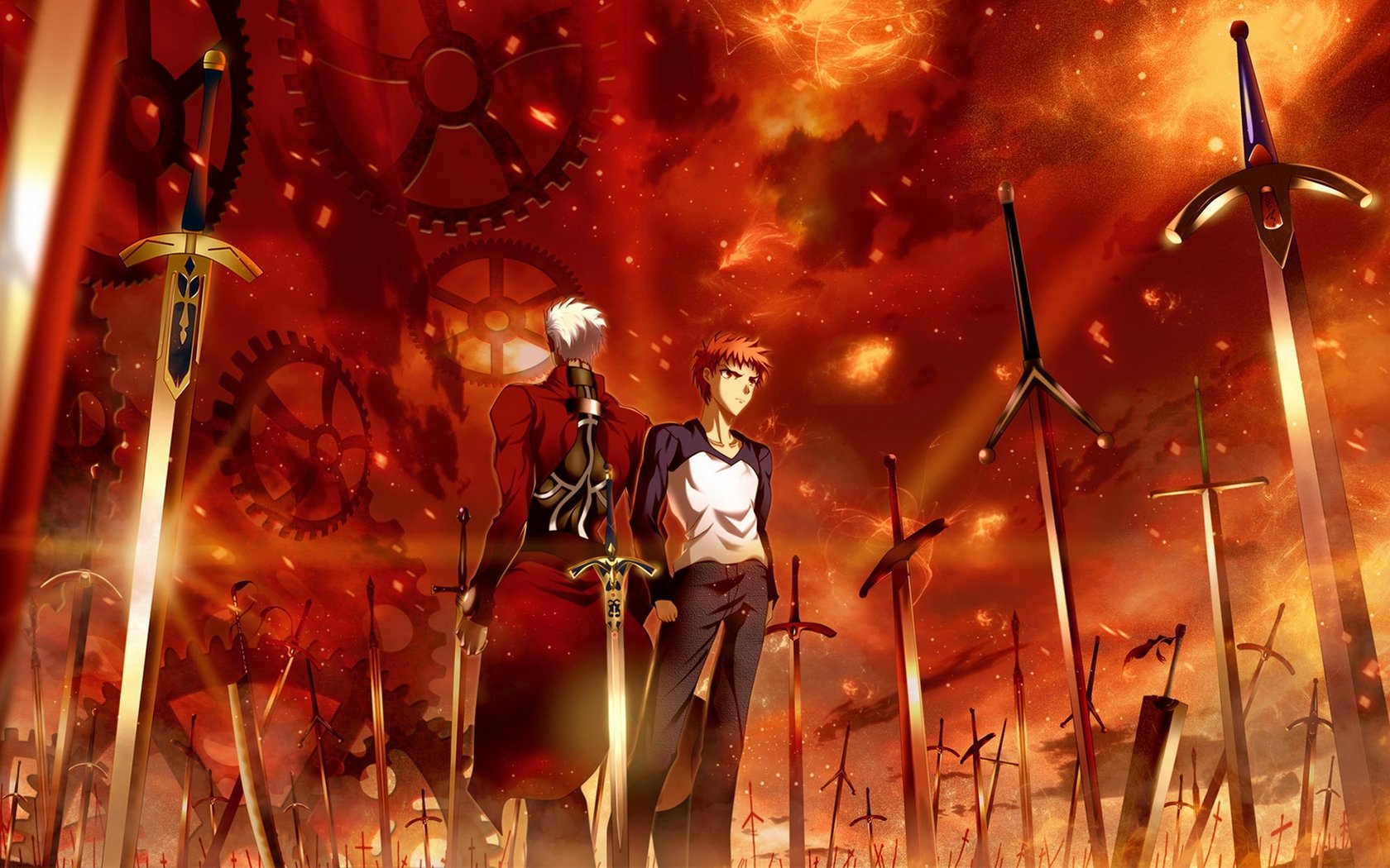Awesome Fate/Stay Night: Unlimited Blade Works free wallpaper ID:291036 for hd 1680x1050 PC